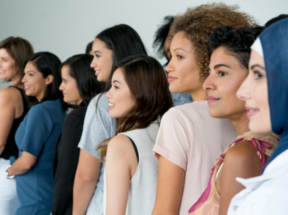 Multi-ethnic group of women, photo by andresr/Getty Images