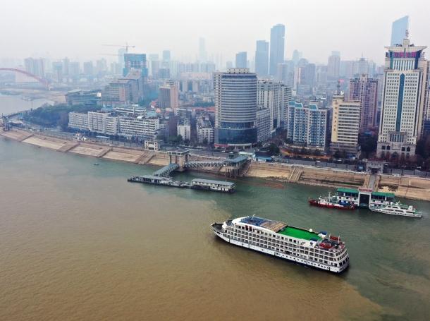An aerial view of Wuhan, China, February 21, 2020, photo by Xiao Yijiu/Xinhua/Latin America News Agency/Reuters