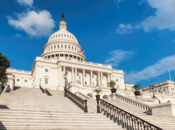 The U.S. Capitol Building in Washington, D.C., photo by lucky-photographer/Getty Images
