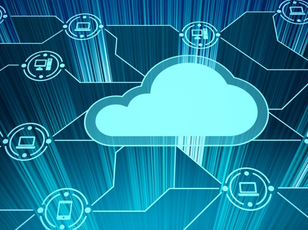 Cloud service icon with options and devices, photo by artisteer/Getty Images