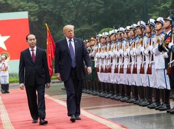 President Donald J. Trump visits Vietnam, November 11, 2017, photo by Shealah Craighead/White House