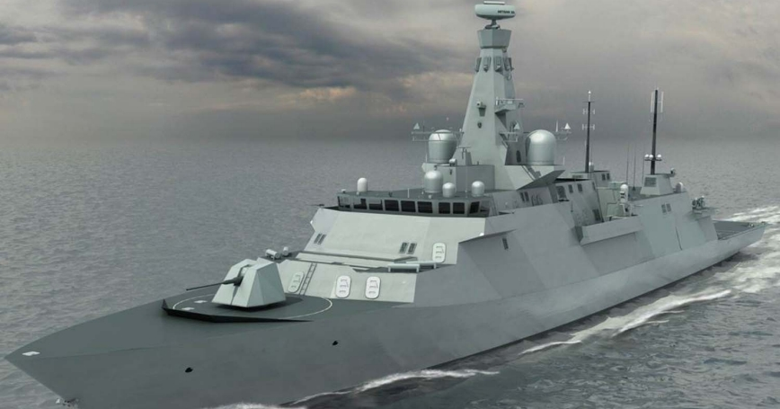 Artist rendering of the Type 26 frigate, photo courtesy of Royal Navy, Australia