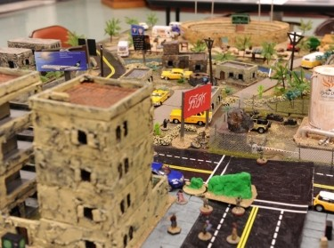 Intricate real life-like models in a wargame at Marine Corps Base Quantico in Quantico, Virginia, August 23, 2017, photo by Frances Seybold/U.S. Marine Corps