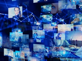 Social networking service, streaming video, communication network, photo by metamorworks/Getty Images