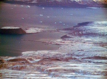 Aerial of Thule Air Base, Greenland, photo by JoAnne Castagna, Public Affairs/U.S. Army Corps of Engineers