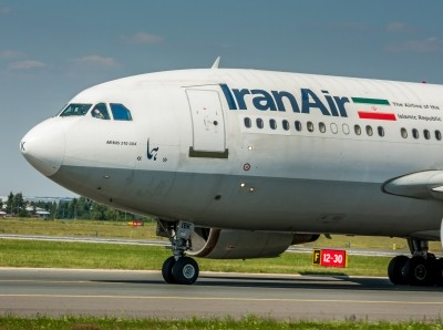 Airbus A310 of Iran Air.