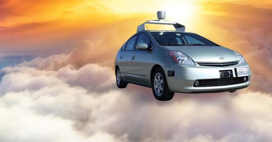 Self-driving vehicle on a cloud