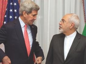 U.S. Secretary of State John Kerry and Iranian Foreign Minister Javad Zarif
