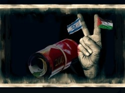 What are the costs of the Israeli-Palestinian conflict?