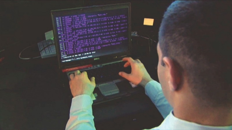 Department of Defense personnel receiving training to defend against cyber attacks