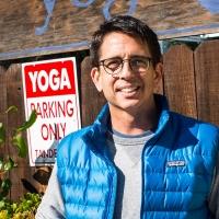 Bruce Bair owns a yoga studio in Santa Monica, California