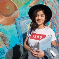 Adrianne Jauregui studies theater arts and French at Santa Monica College