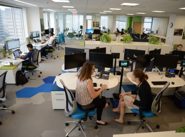 RAND future workspace office in DC