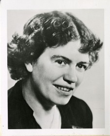 Anthropologist Margaret Mead in 1948, in a photo distributed in conjunction with her appearance at the Second International Symposium on Feelings and Emotions