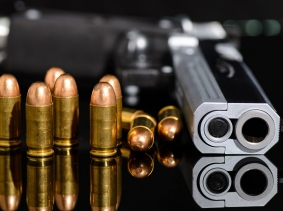 Gun and bullets