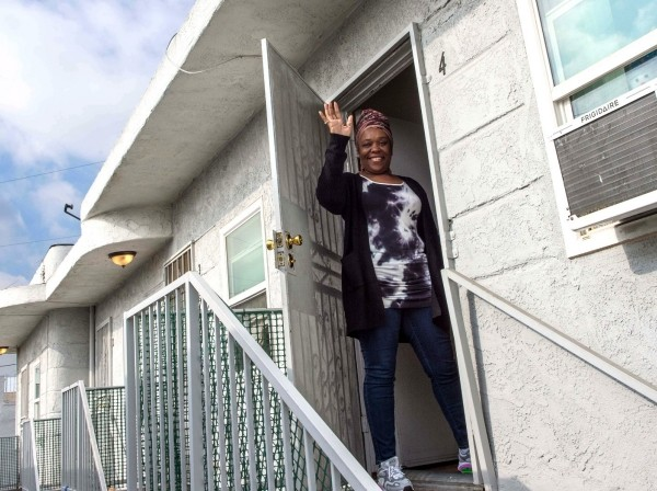Tanya Beverly is part of a program that diverts people with mental illness out of the county jail and into supportive housing, photo by Diane Baldwin/RAND Corporation