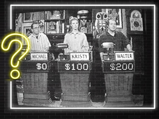RAND's Walter Nelson on game show Win Ben Stein's Money, photos from RAND Archives