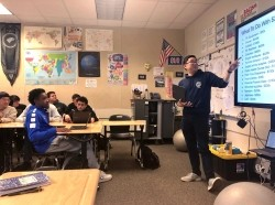 Jayson Chang teaches civics at Santa Teresa High School in San Jose, Calif., photo courtesy of Jayson Chang