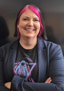 Tamara Banbury describes herself as a voluntary cyborg, photo courtesy of Tamara Banbury