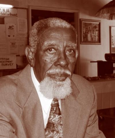 Tepring Piquado's grandfather Eugene Carr, photo courtesy of Tepring Piquado