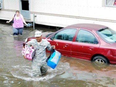Hurricane Isaac flooding St. John the Baptist Parish