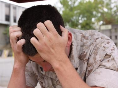 A depressed marine