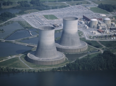 Sequoyah Nuclear Power Plant in Hamilton County, Tennessee