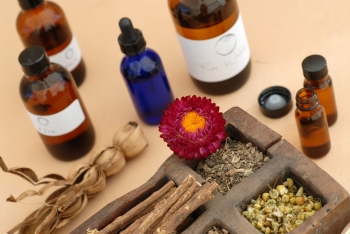 Natural medicine herbs and oils