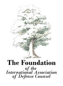 Foundation of the International Association of Defense Counsel logo