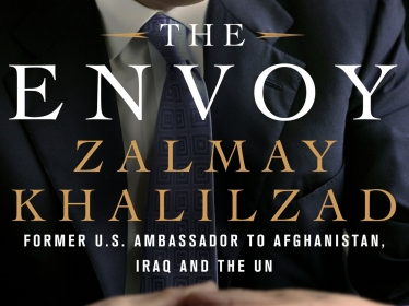 Cover of The Envoy: From Kabul to the White House, My Journey Through a Turbulent World