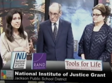 RAND researcher Gaby Gonzalez, Margrit Wallace from PBIS & Rti/TST, and Allen Croxall discuss Tools for Life