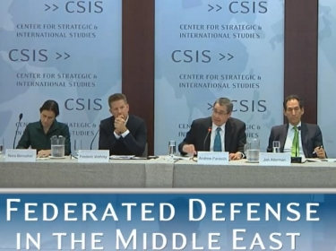 Federated Defense in the Middle East Panel with CGRS Director Andrew Parasiliti
