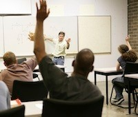 Adult education in the classroom