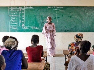 Women Attend Classes in Rural Community of Senegal