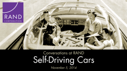 Self-Driving Vehicles