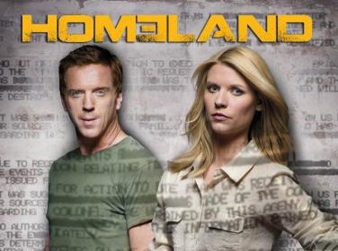 TV series Homeland publicity poster
