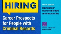 Career Prospects for People with Criminal Records: Practitioners' Views on Barriers and Opportunities