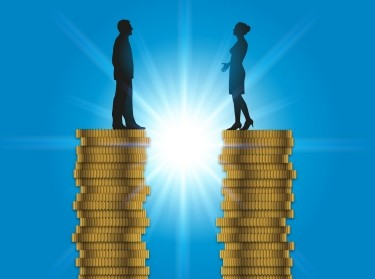 Equal pay for men and women, image by pict rider/Adobe Stock