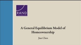 A General Equilibrium Model of Homeownership