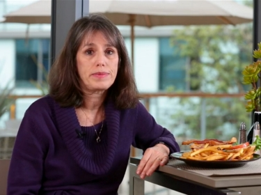 Deborah Cohen speaking on health food options at restaurants for USA Today