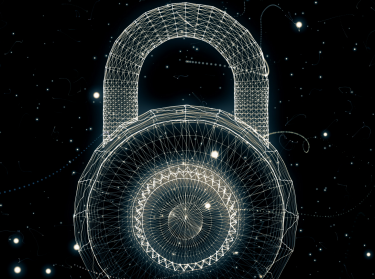 Padlock generated from a particle vortex