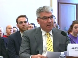 Andrew Morral presents testimony before the House Appropriations Subcommittee on Labor, Health and Human Services, Education, and Related Agencies on March 7, 2019.