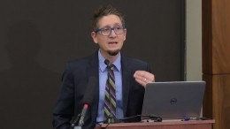 Beau Kilmer discusses the past, present, and possible futures of fentanyl in the United States in a September 13th congressional briefing.