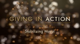 Giving in Action: Stabilizing Mosul