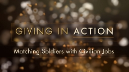 Giving in Action: Matching Soldiers with Civilian Jobs
