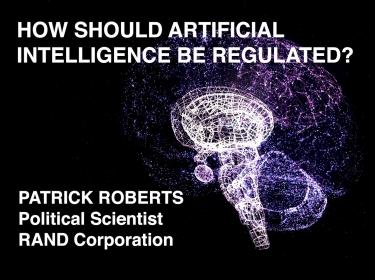 Patrick Roberts on AI Regulation