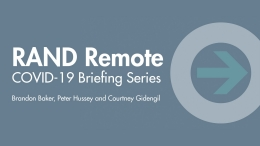 COVID-19 Briefing Series: Evidence for Pandemic Recovery Action