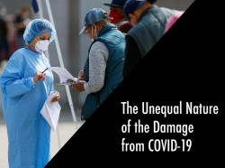 The Unequal Nature of Damage from COVID-19
