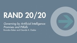 RAND 20/20: Governing by Artificial Intelligence