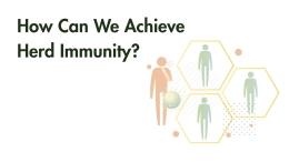 How Can We Achieve Herd Immunity?